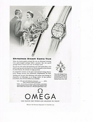 OMEGA Watch 1955 Ad