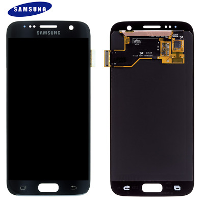 Original Samsung Galaxy S7 SM-G930F LCD Display+Touch Screen Bildschirm Schwarz