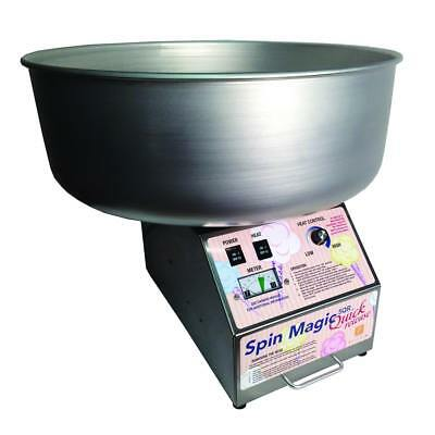 Spin Magic Quick Release Cotton Candy Machine with Metal Bowl