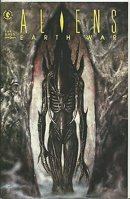 Aliens: Earth War #3 (Of 4) (Dark Horse) 1990 (Nm-)