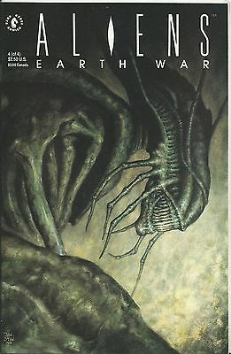 Aliens: Earth War #4 (Of 4) (Dark Horse) 1990