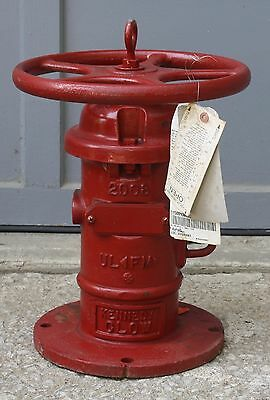 Local Pickup Only KCMO Kennedy Clow Post Indicator Valve 641S Wall Mount Unused