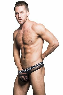 Andrew Christian Sexy FUKR Arch Mesh Thong size Large