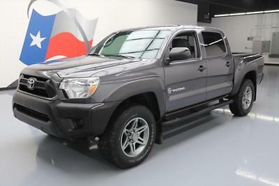 2013 Toyota Tacoma Pre Runner Crew Cab Pickup 4-Door 2013 TOYOTA TACOMA TX PRERUNNER V6 DBL CAB LEATHER 36K #040077 Texas Direct Auto