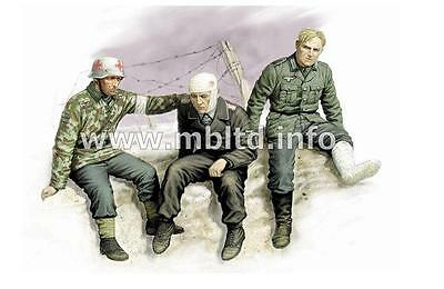 MASTER BOX 1:35 Ticket Home German Soldiers 1941-43 (3) MBL3552