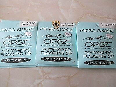NEW OPST Micro Skagit Commando Floating Tips 3 Options