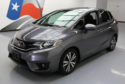 2015 Honda Fit  2015 HONDA FIT EX HATCHBACK 6-SPD SUNROOF REAR CAM 64K #708560 Texas Direct Auto