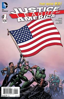 JUSTICE LEAGUE OF AMERICA (New 52) #1-7 Geoff Johns David Finch Forever Evil