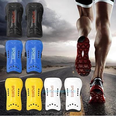 Child Kids Soft Football Shin Pads Soccer Guards Sports Leg Shinguard Protector