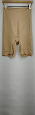 Spanx Shaper XL Simplicity High Waist Mid-Thigh Nude Beige New