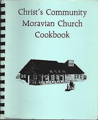 Maple Grove Mn 1987 Christ's Community Moravian Church Cook Book Ethnic Recipes