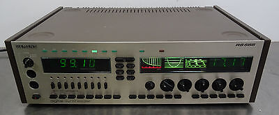 vintage hifi amp - Digital Synthesizer Stereo Receiver Siemens RS 555 - 1981