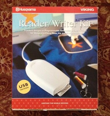 Husqvarna Viking USB Embroidery 512 Kb Card Reader/Writer for Orchidea #1+, Rose
