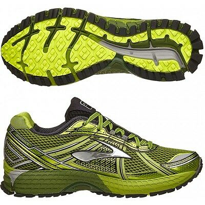 Mens Brooks Adrenaline ASR 12 Trail Off Road Running Trainers Shoes Size UK 12 D