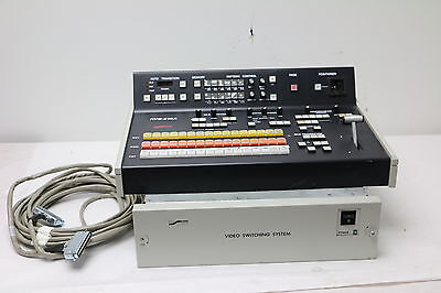 Ross RVS-216A Production Switcher w/ RVS-216A FR Video Switching System TESTED