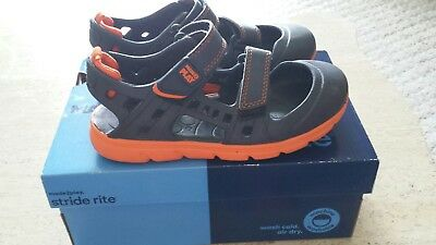 STRIDE Rite Made 2 Play Children Sport Shoes Boys Size 13 Worn Once