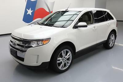 2011 Ford Edge Limited Sport Utility 4-Door 2011 FORD EDGE LIMITED HTD LEATHER REAR CAM 20'S 67K MI #B66865 Texas Direct