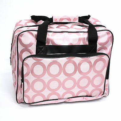 Janome Pink Portable Sewing Machine Tote Bag Carrying Case