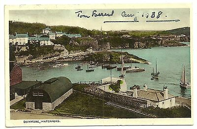 Ireland Co Waterford postcard Dunmore