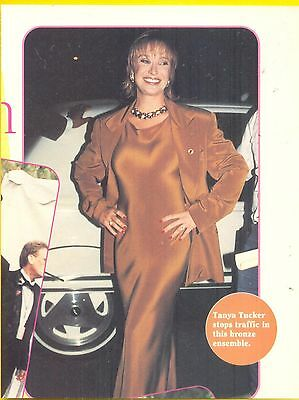 Tanya Tucker, Country Music Star in 1995 Magazine Print Photo Clipping, Fashion