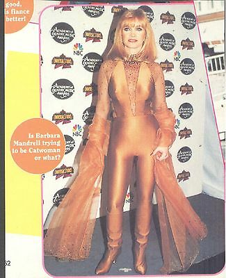 Barbara Mandrell, Country Music Star in 1995 Magazine Print Photo Clipping