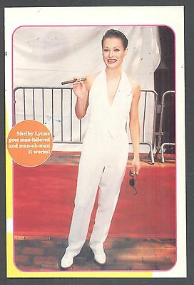 Shelby Lynne, Country Music Star in 1995 Magazine Print Photo Clipping. Fashion