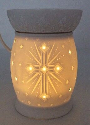 PartyLite ScentGlow LIGHT OF THE WORLD Electric Warmer Aroma Melts P90656 Retire