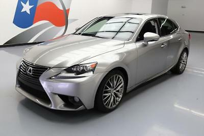 2014 Lexus IS  2014 LEXUS IS250 PREMIUM SUNROOF NAV REAR CAM 45K MILES #014423 Texas Direct