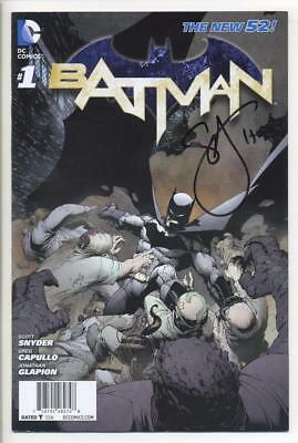 Batman #1 Special Edition Signed By Scott Snyder Dc New 52 Sdcc Vf/nm