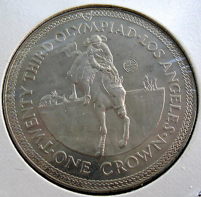 Coin Isle Of Man 1Cr 1984 Unc T-A