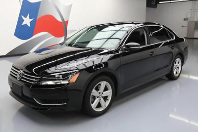 2013 Volkswagen Passat  2013 VOLKSWAGEN PASSAT SE HTD SEATS ALLOY WHEELS 27K MI #061749 Texas Direct