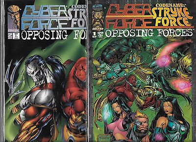 Cyberforce Codename Stryke Force Opposing Forces #1-#2 Set (Nm-)  Image Comics