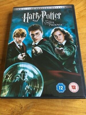 Harry Potter And The Order Of The Phoenix DVD
