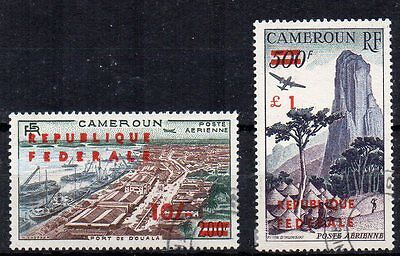 Cameroon 1961 Independenc surch FU CDS