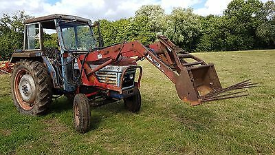 Leyland 262 Tractor With Alo Quicke Loader