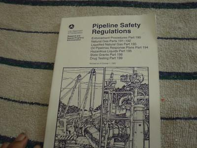 Pipeline safety regulations