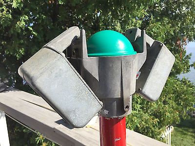 Unrestored Mini Simplex Car Show Props Drive-In Movie Speakers With Junction Box