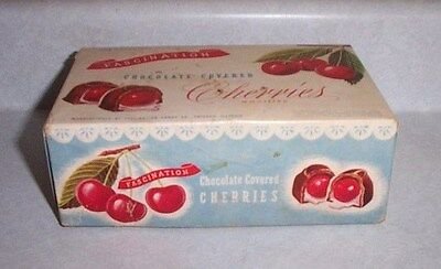 Vintage Box, Fascination Chocolate Covered Cherries Box