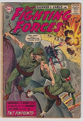 Our Fighting Forces #85 Dc Comics Vg-