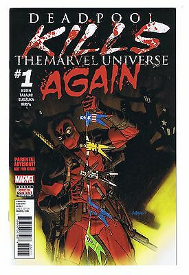 (2017) Marvel Comics Deadpool Kills Marvel Universe Again #1 Flat Rate Shipping