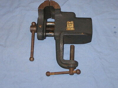 """Vindex Tools Clamp On Bench Vise 2 1/2"""" Jaws National Sewing Machine Belvidere"""