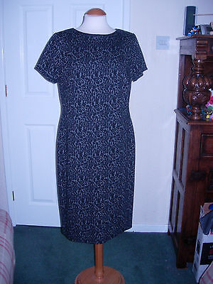 Bnwt maxi dress size 16 black gold shoe string beaded for George at asda wedding dresses