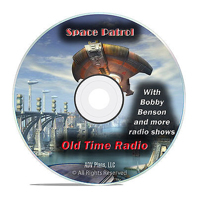 Space Patrol, 798 Old Time Radio Shows, Fantasy Outer Space OTR mp3 DVD G30