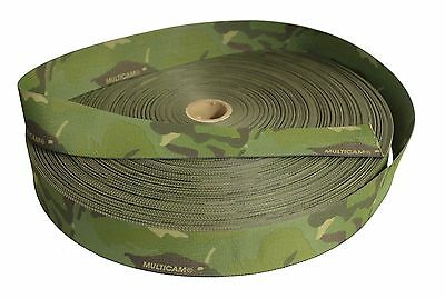 "50mm / 2"" Double Sided Crye Multicam Tropic Webbing + CTEdge™ ( Military Tape"