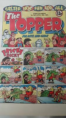 The Topper Vintage Comic