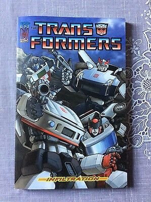 Transformers Infiltration IDW TPB graphic novel