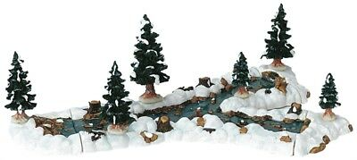 Lemax Christmas Village, Mill Stream Fork 10pcs
