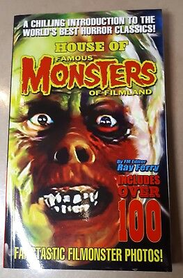 House Of Famous Monsters Filmland Over 100 Filmonster Photos Pb First Printing