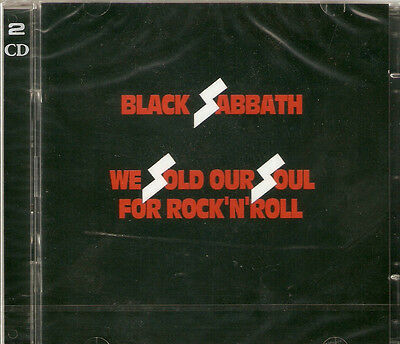 Black Sabbath - We Sold Our Soul For Rock 'N' Roll 2CD NEW/SEALED