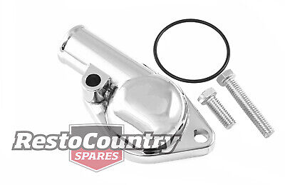 Holden Chrome 6 Cylinder Thermostat Housing Water Outlet 149 186 202 O-Ring Seal
